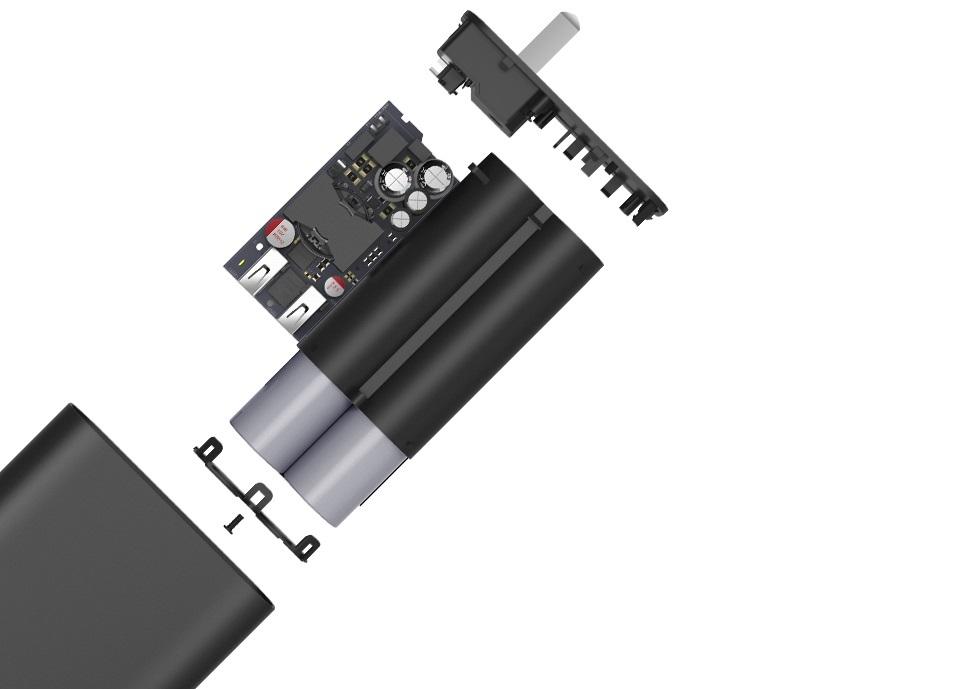 Зарядное устройство с Power Bank ZMI APB01A (5200 mAh) структура устройства