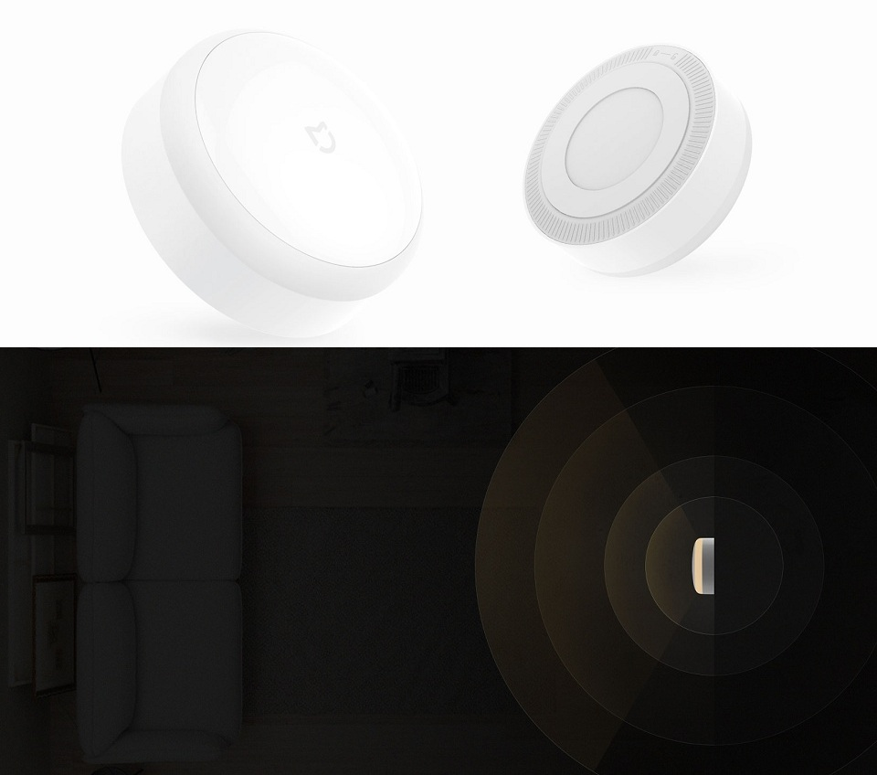 Ночная лампа MiJia Induction Night Light крупным планом