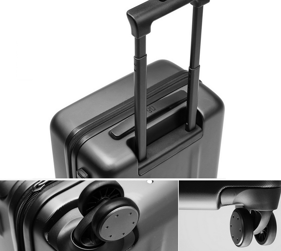 Чемодан Xiaomi 90 Points Suitcase Dark Grey Magic Night 28'' особенности