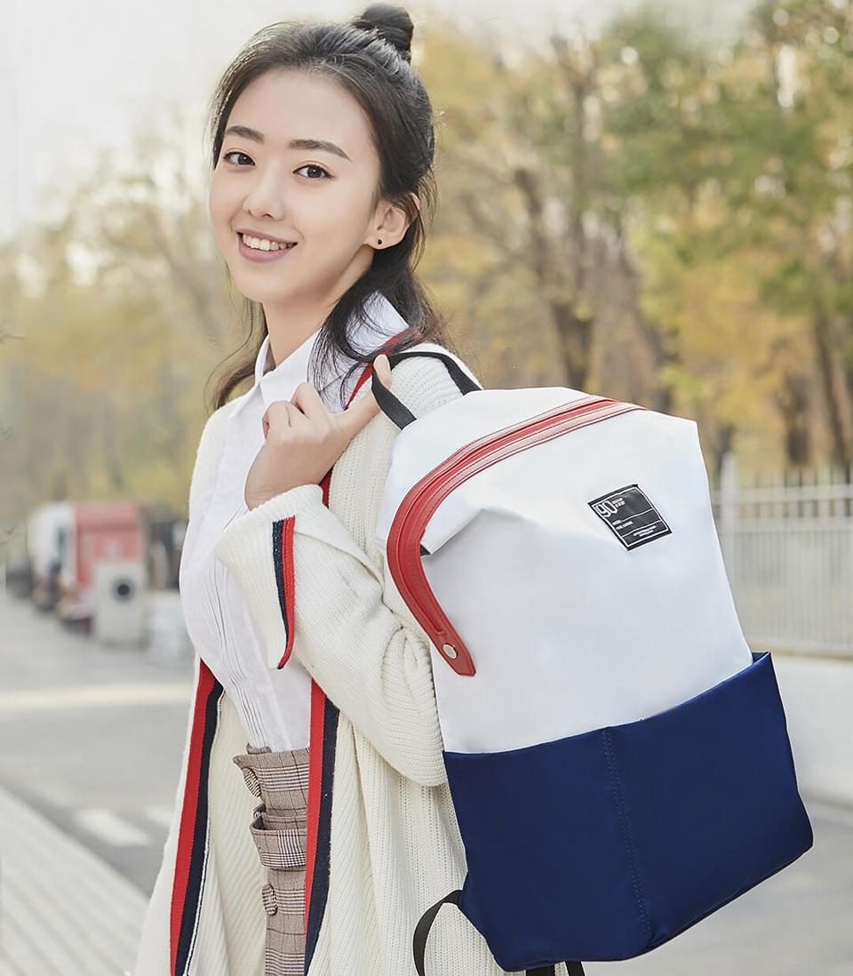 Рюкзак 90FUN Lecturer casual backpack девушка с рюкзаком