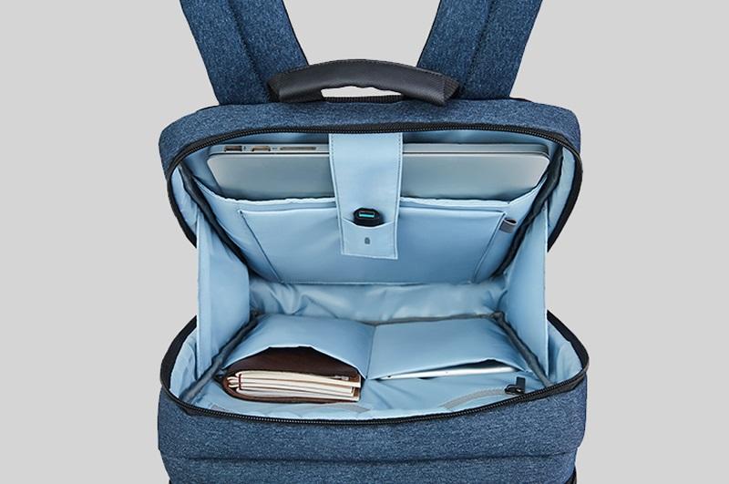 Рюкзак RunMi 90 Points Classic Business Backpack внутреннее отделение