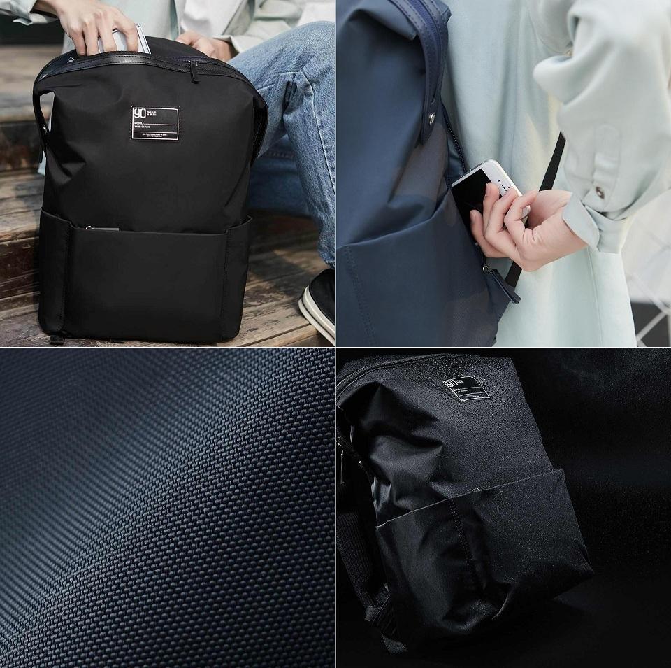 Рюкзак 90FUN Lecturer casual backpack материал и особенности