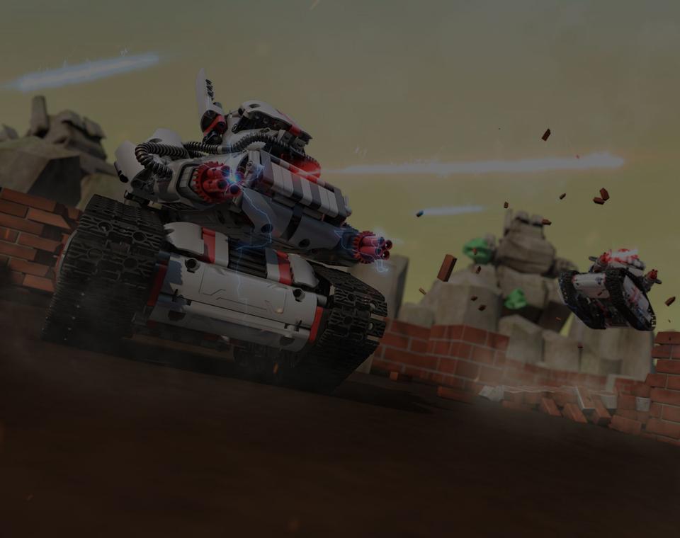 Игрушка трансформер Mi Robot Rover демонстрация игры