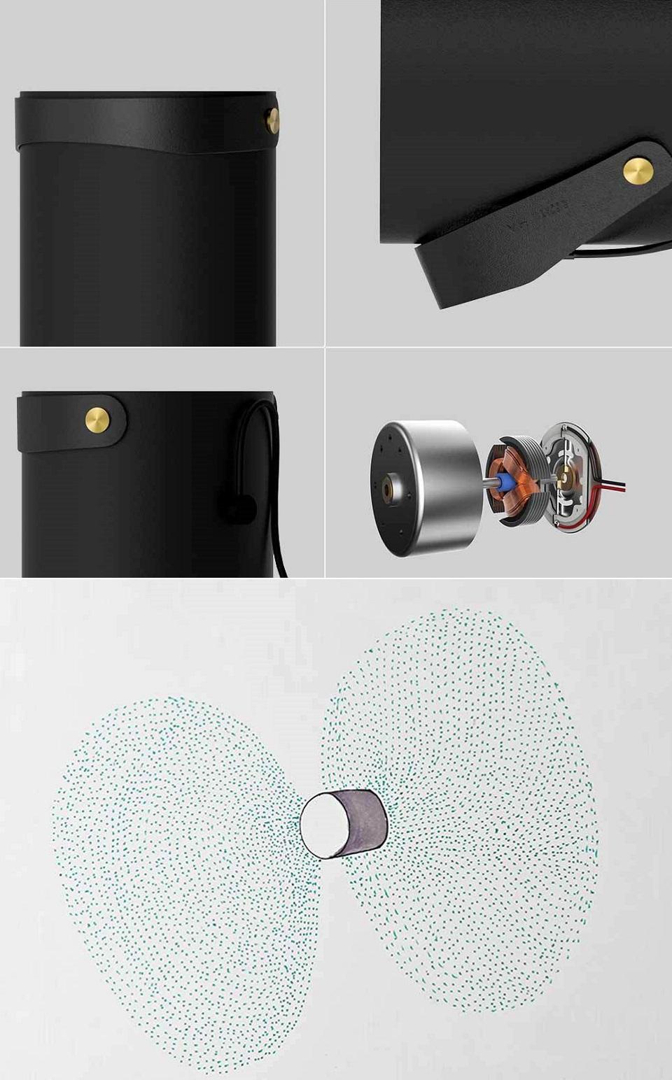 Вентилятор VH USB Futaba и лопастей