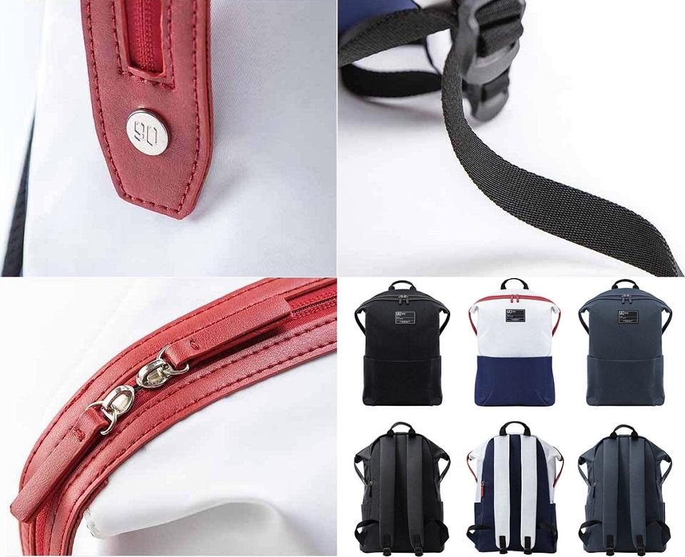 Рюкзак 90FUN Lecturer casual backpack элементы конструкции