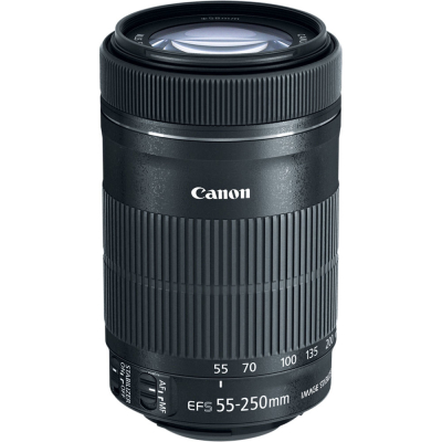 Объектив Canon EF-S 55-250mm f/4-5.6 IS STM