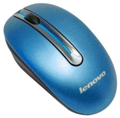 Мышь беспроводная Lenovo Wireless Mouse N3903A Blue USB