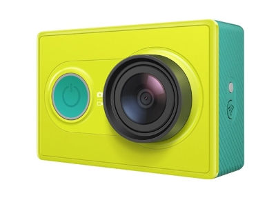 Видеокамера Xiaomi YI Action Camera Travel Edition Green YDXJTZ02XY