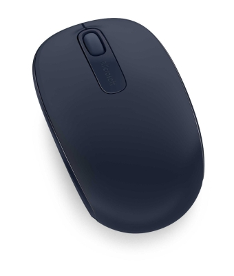 Мышь беспроводная Microsoft Wireless Mobile Mouse 1850 U7Z-00014 dark Blue USB