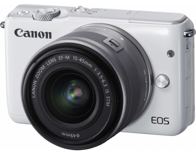 Фотоаппарат Canon EOS M10 Kit EF-M 15-45 IS STM White