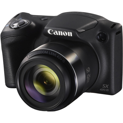 Фотоаппарат Canon PowerShot SX420 IS Черный