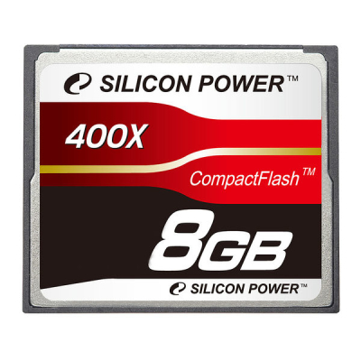 Карта памяти Silicon Power 8GB 400X Professional Compact Flash Card SP008GBCFC400V10