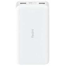 Аккумулятор Xiaomi Redmi Power Bank Fast Charge 20000 mAh White PB200LZM