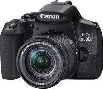 Фотоаппарат Canon EOS 850D kit 18-55 IS STM Black