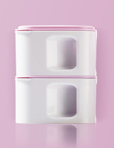 Ланч-бокс Xiaomi Kalar Square Lunch Box Pink
