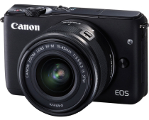 Фотоаппарат Canon EOS M10 Kit EF-M 15-45 IS STM Black