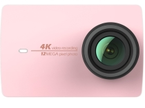 Видеокамера Xiaomi Yi 4K Action Camera Travel Edition Pink