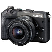 Фотоаппарат Canon EOS M6 Kit EF-M 15-45 IS STM Black