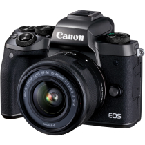 Фотоаппарат Canon EOS M5 Kit EF-M 15-45 IS STM Black