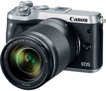 Фотоаппарат Canon EOS M6 Kit EF-M 18-150 IS STM Silver